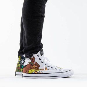 Converse X Scooby-Doo CTAS Hi 169076C NWB